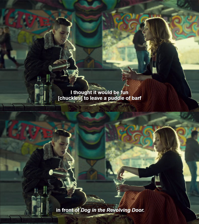 Adele en Felix in Orphan Black